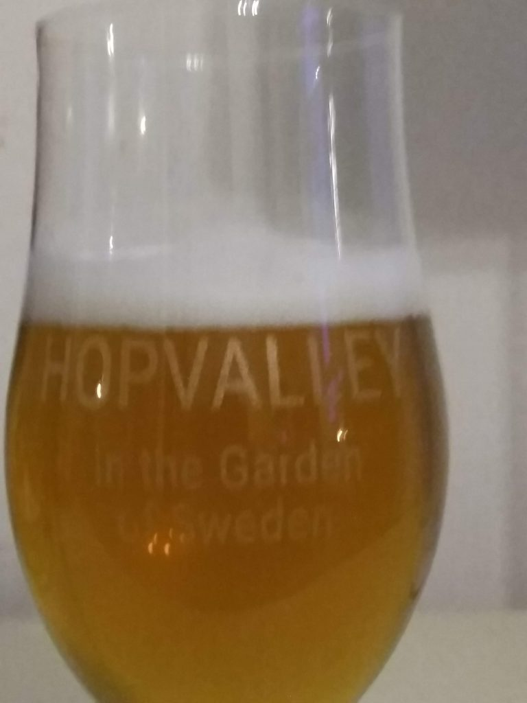 Great glass design and production of a pilsner