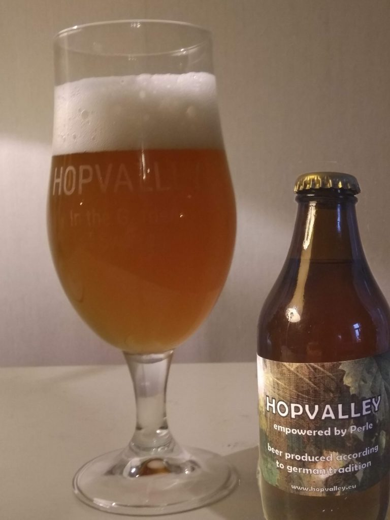 Hopvalley beer - hop-aromatic ale